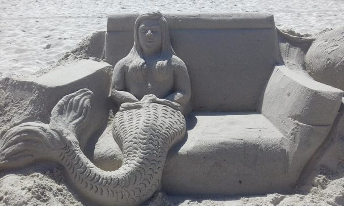 City to help skilled sand sculptor