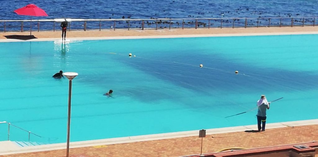 Sea Point pool closed