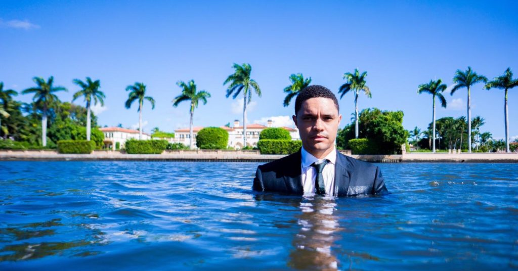This is Trevor Noah's new mansion