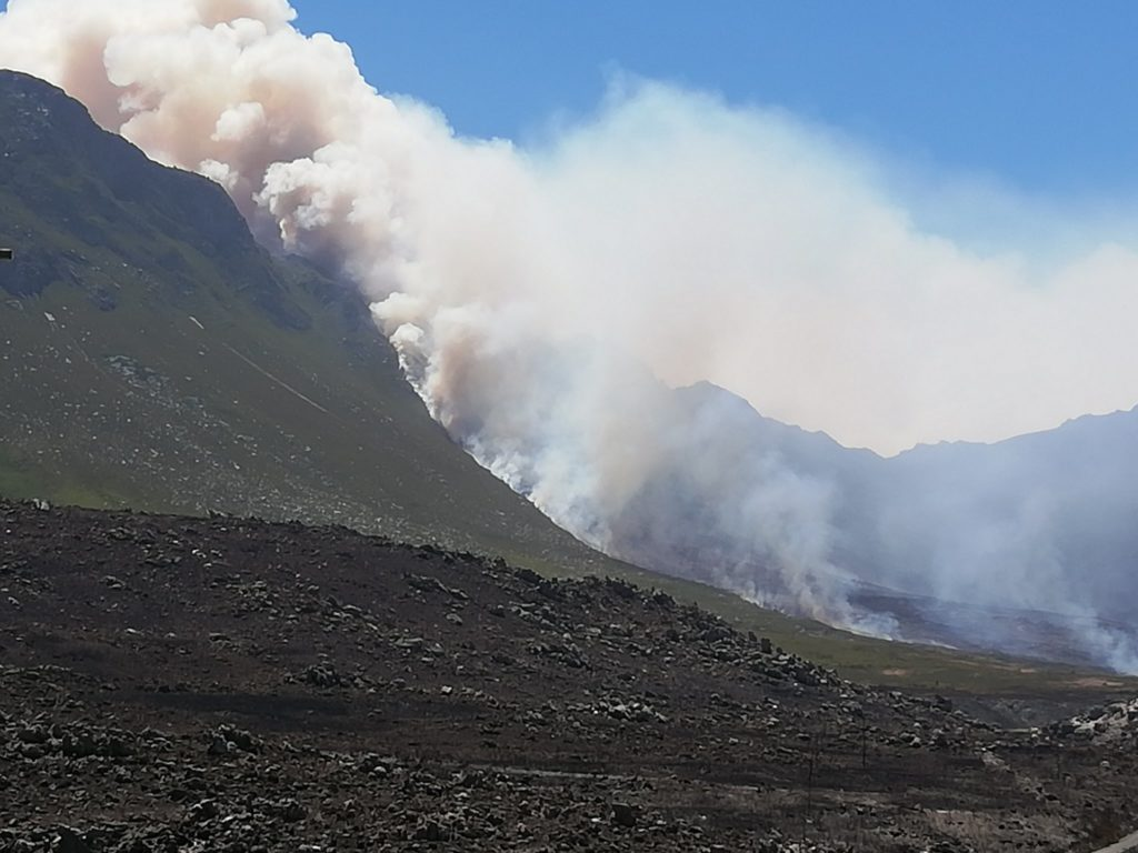 Donations needed for Overberg firefighters