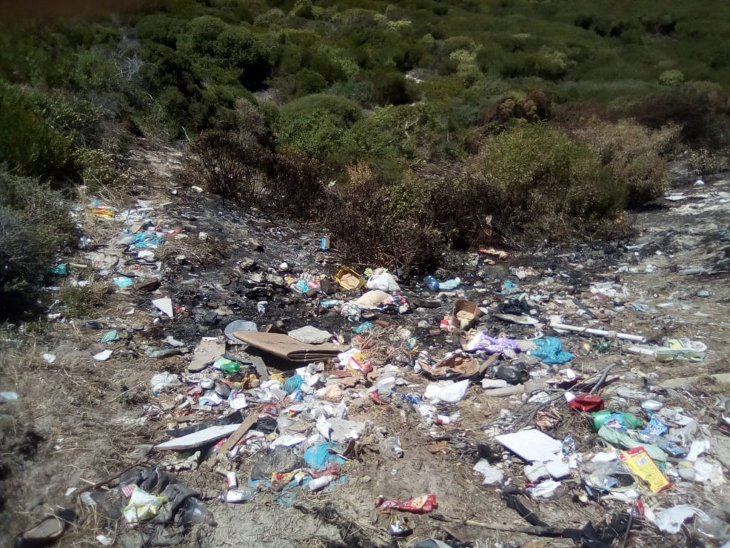City condemns illegal dumping