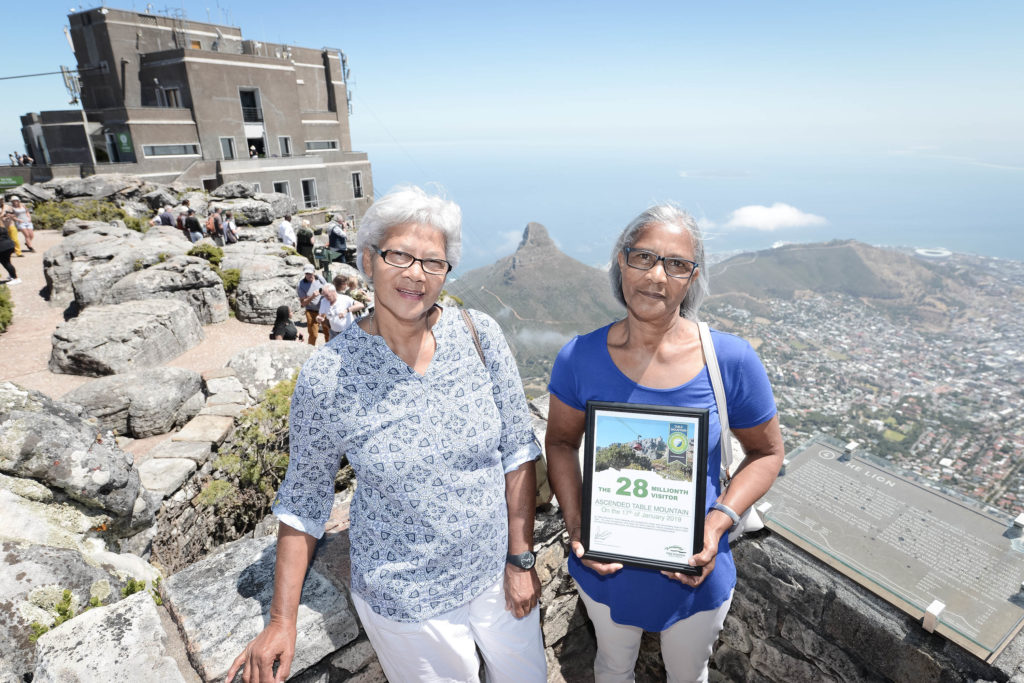 Table Mountain Cableway welcomes 28-millionth visitor