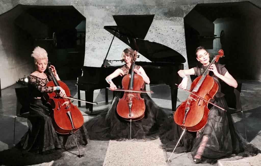 Rosanthorn Cello Trio at Oude Libertas Amphitheatre