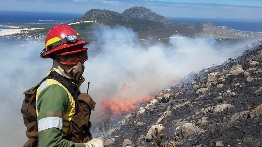 Fire extinguishes New Year's cheer in Overberg
