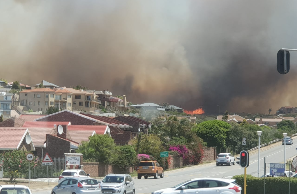 Fire breaks out in Mossel Bay