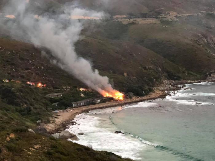 Fire breaks out at Tintswalo Atlantic
