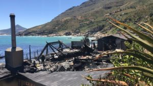 Aftermath of Tintswalo Atlantic fire