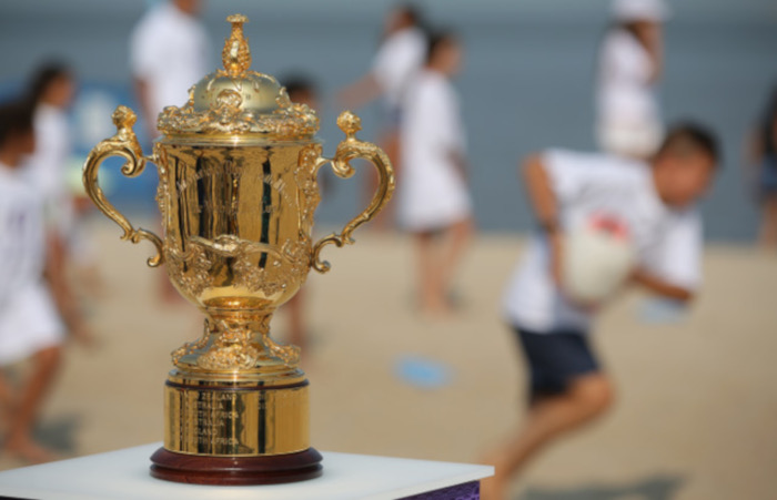 The Web Ellis Cup stops over in SA