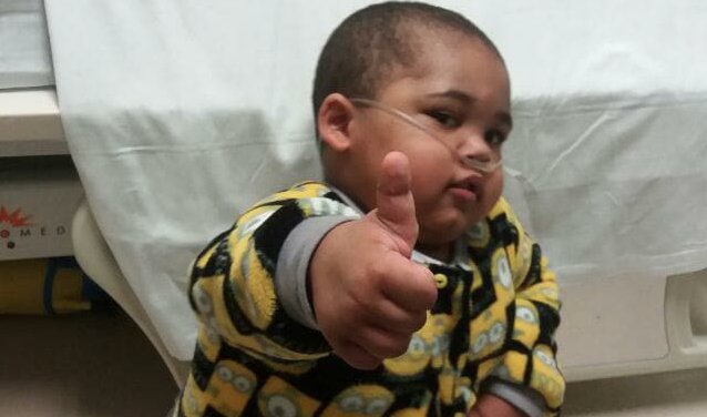 Little warrior's fight against incurable disease