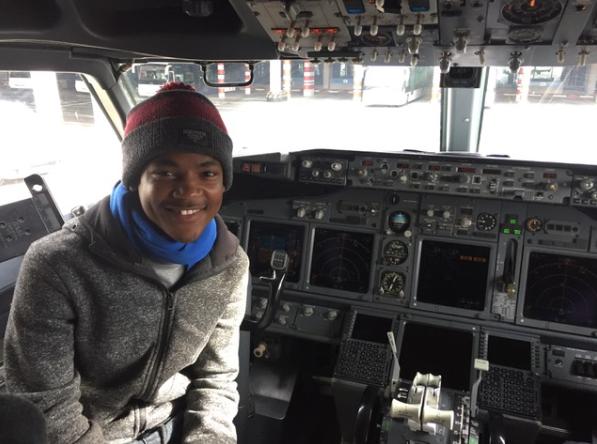 Local teenager's dreams take flight