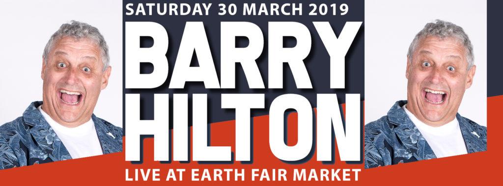 Barry Hilton Live at Earth Fair Market