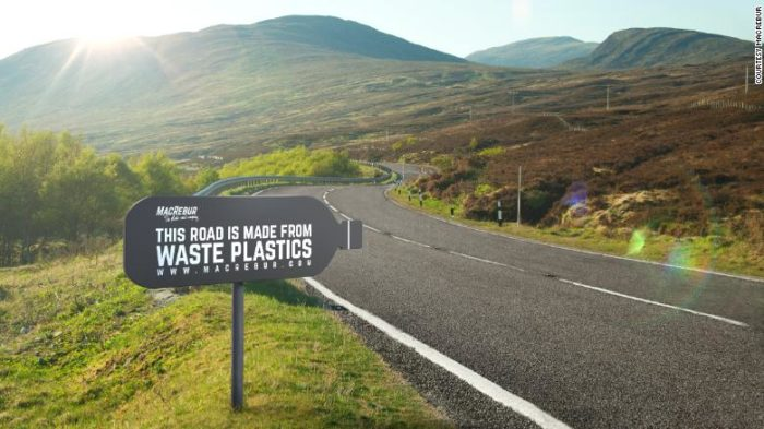 First plastic road paves the way for SA