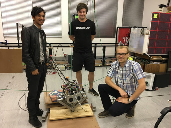 UCT team develops Africa's first two-legged robot