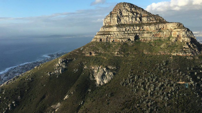 Illegal trails closed on Lions Head