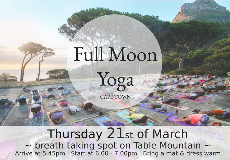 Align Your Energy at Full Moon Yoga this March