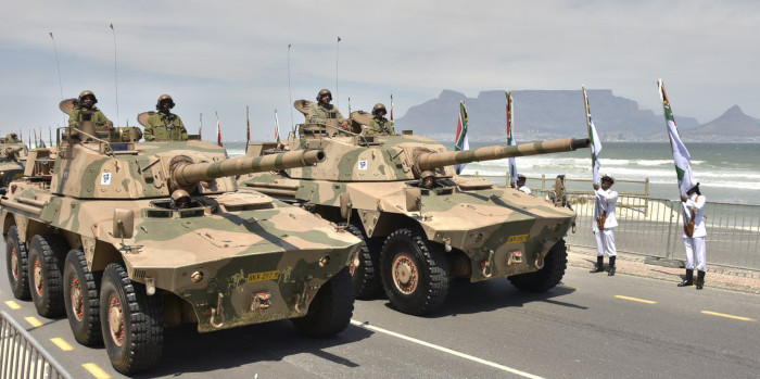 SA army ranks third in Africa