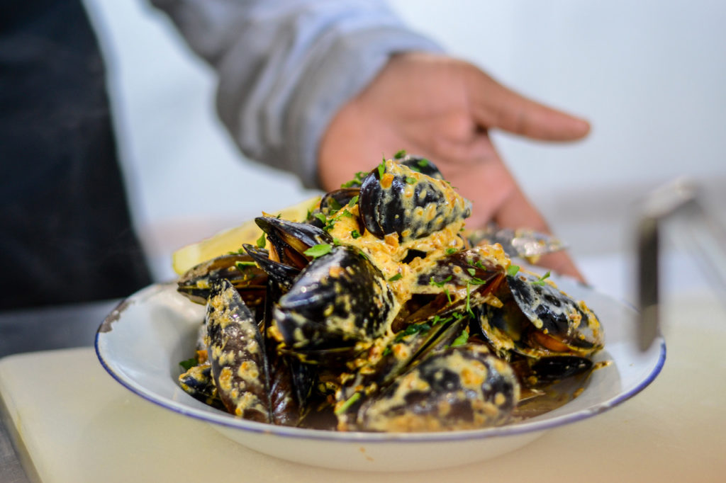 Pop, fizz and shuck at The Mussel Monger & Oyster Bar