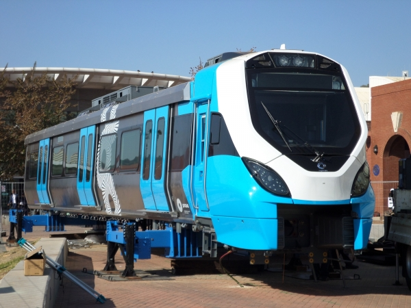 PRASA pilots new train in Cape Town