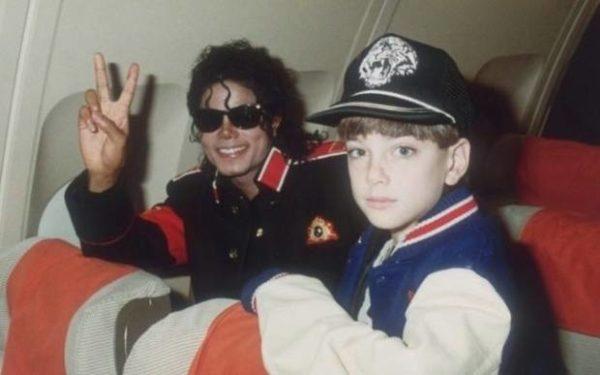 James Safechuck and Michael Jackson