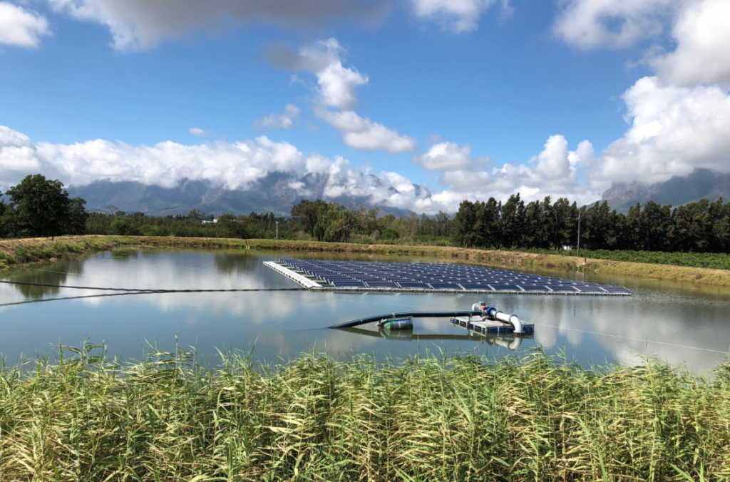 Cape Town launches Africa's first floating solar farm