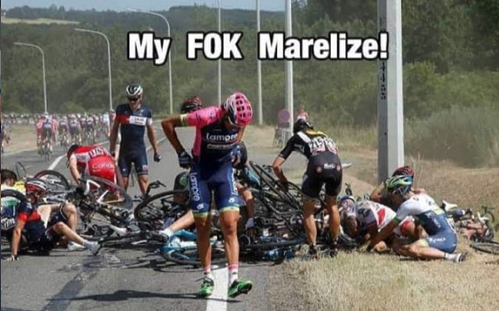 'My F*k Marelize' extends to Cape Town Cycle Tour