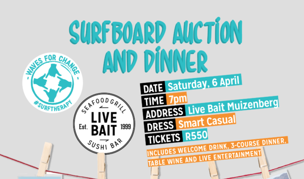 Waves for Change Presents Their First Surfboard Auction