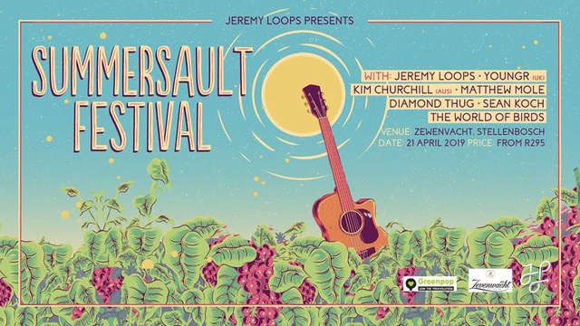 Jeremy Loops to Awaken the City at Summersault Festival