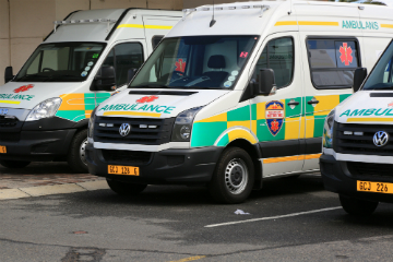 EMS staff robbed at gunpoint
