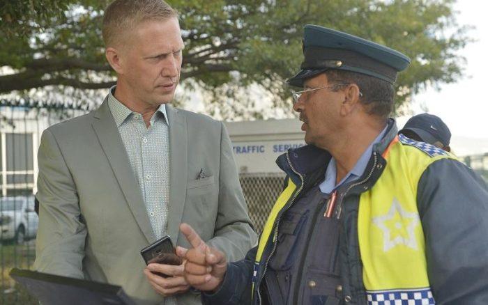 Traffic officers go door-to-door for unpaid fines