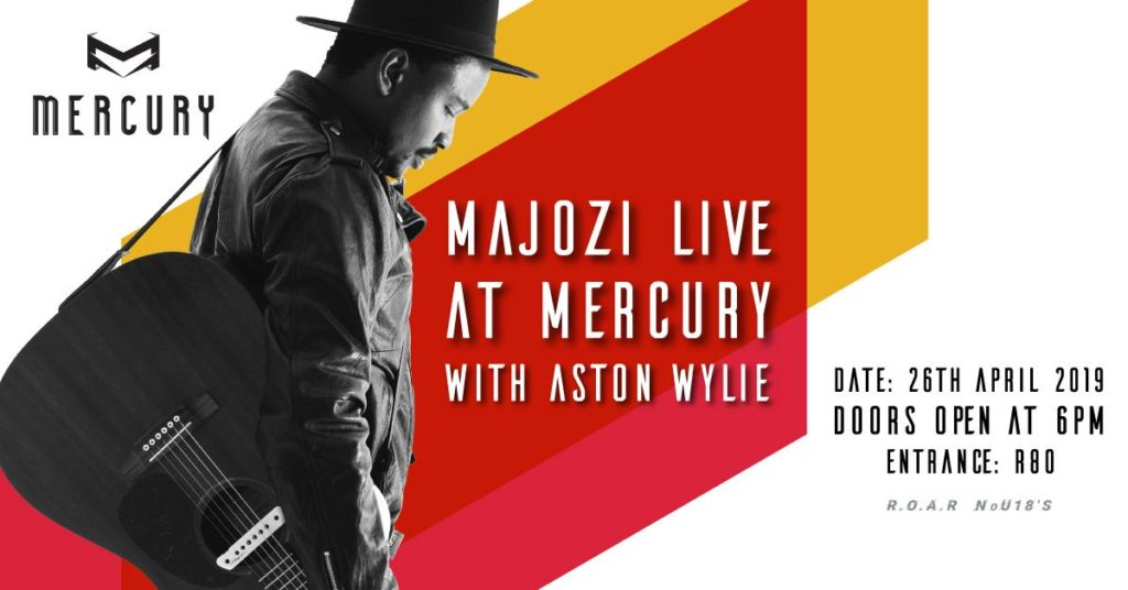 Majozi Live with Help from Aston Wylie at Mercury Live