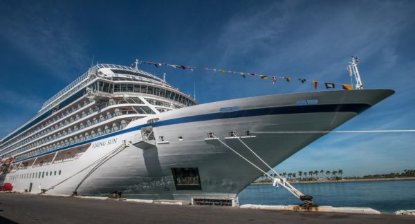 Viking Sun's maiden voyage into Cape Town