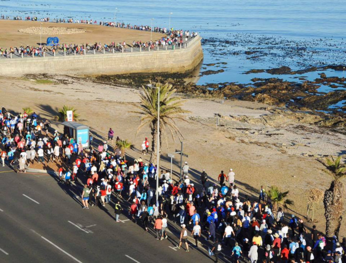 Temporary road closures for CPT Big Walk
