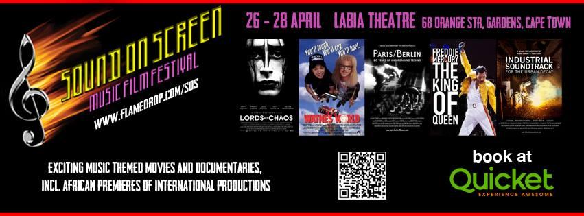 Sound on Screen Music Film Festival at The Labia Theatre