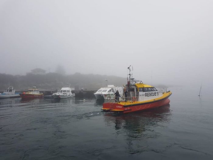 Fishermen survive overnight in icy Cape waters