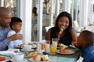 A Bountiful Buffet at the President Hotel this Mothers Day