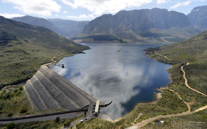 Cape Town dam levels drop below 50%