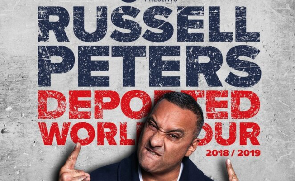 Russell Peters Deported World Tour at the Grand Arena