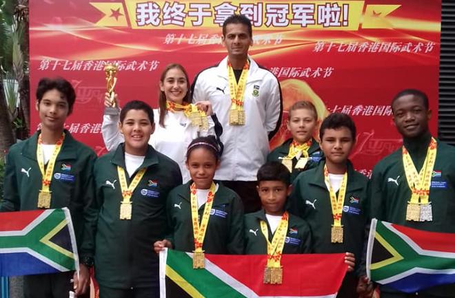 SA sets records at global Kung Fu championship