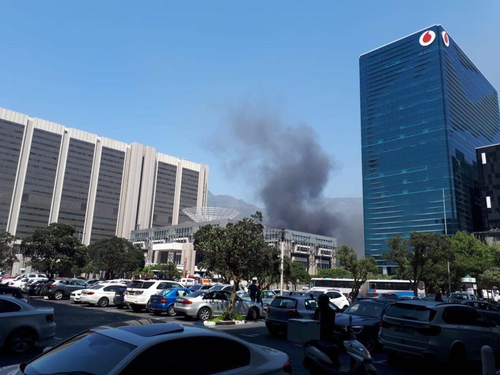 Suspect arrested for Cape Town train fire