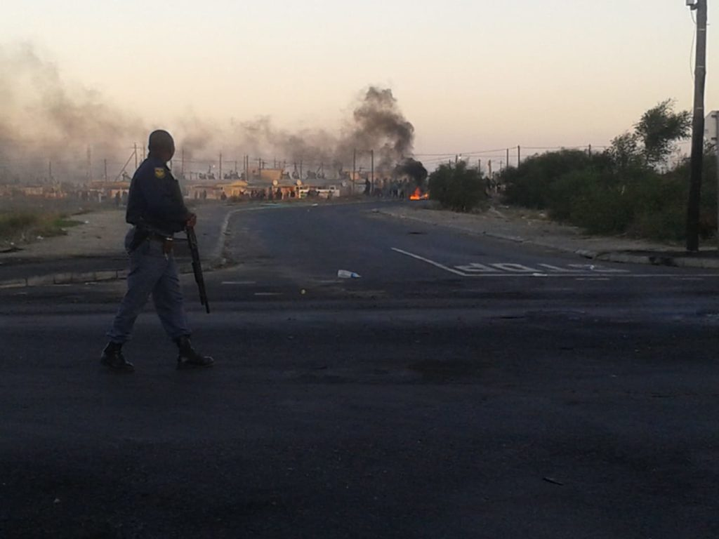 Rioting and protests result in road closures